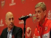 """Arsenal cần  """" bộ não """"  mới, Wenger hết thời  """" bá đạo """""""