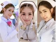 Bạn trẻ - Cuộc sống - Đến cả nữ y tá cũng khiến người ta phải xốn xao thế này sao?