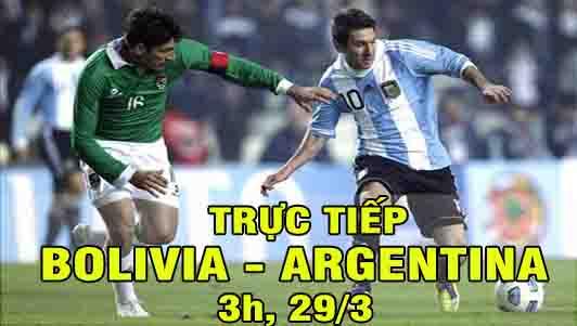 TRỰC TIẾP bóng đá Bolivia – Argentina: Nỗi ám ảnh quá khứ