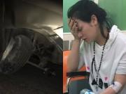 Ca nhạc - MTV - Nhật Kim Anh bị tai nạn, đầu xe hơi bẹp rúm