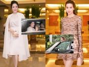"""Thời trang - Lý Nhã Kỳ - Hà Hồ đọ siêu xe, hàng hiệu """"khủng"""" nơi đông người"""