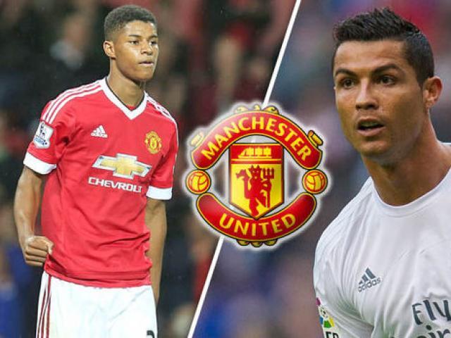 Chuyển nhượng MU: Ronaldo dụ dỗ Real mua Rashford