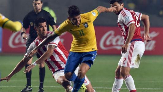 """Brazil - Paraguay: Siêu phẩm cứu """"tội đồ"""""""