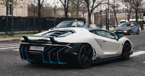 """Bắt gặp Lamborghini Centenario mang biển """"lục quý 6"""" siêu độc - 4"""