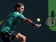"""Federer - Agut: Sống sót sau 2 màn  """" đấu súng """"  (V4 Miami Open)"""