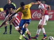 """Bóng đá - Brazil - Paraguay: Siêu phẩm cứu """"tội đồ"""""""