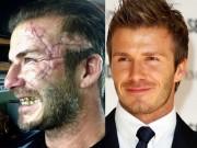 """David Beckham gây sốc với diện mạo  """" xấu đau đớn """""""