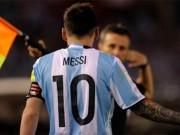 """SAO  """" bự """"  có thể lỡ World Cup 2018:  """" Đầu đàn """"  Messi"""