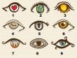 """Trắc nghiệm về đôi mắt sẽ  """" tố cáo """"  suy nghĩ của bạn"""