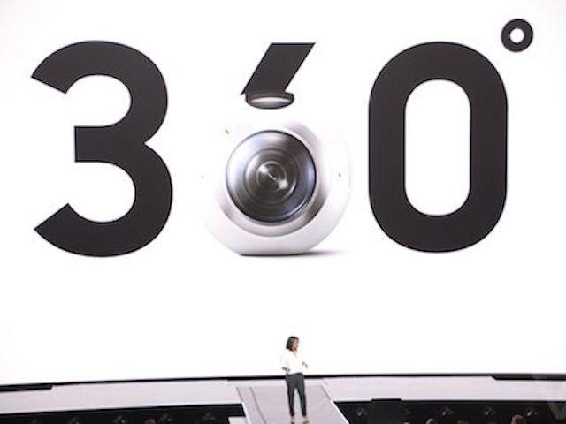 Samsung Gear 360 phiên bản mới: Hỗ trợ live stream trên iPhone