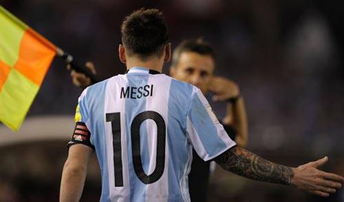 Messi bị treo giò 4 trận: Lời chối tội khó tin