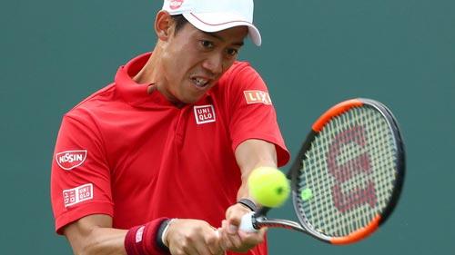 Miami Open ngày 6: Nishikori gục ngã dễ dàng