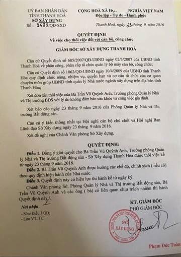 Kết luận thanh tra tài sản, việc bổ nhiệm hotgirl Trần Vũ Quỳnh Anh - 2