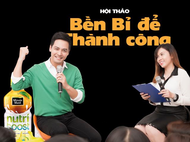 """MC Phan Anh: """"Thành công sẽ đến với những ai bền bỉ rèn nội lực"""""""