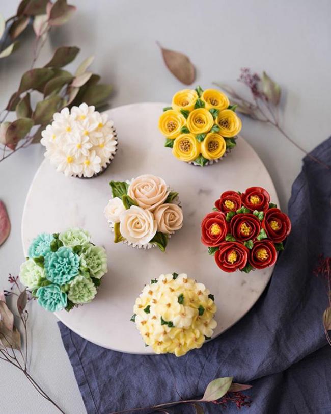 Đây là bánh kem hay là một vườn hoa?