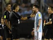 Messi bị treo giò 4 trận: Maradona chối  đâm sau lưng