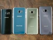 """Dế sắp ra lò - Samsung Galaxy S8, S8 Plus so kè Galaxy S7, S7 Edge: Bước """"nhảy vọt"""" lớn"""