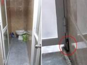 Tin tức trong ngày - Tá hỏa phát hiện máy quay trộm ở nhà vệ sinh trong quán cà phê