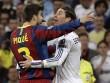 """"""" Mưu hèn kế bẩn """"  Real-Barca:  Vỡ mặt  vì đòn dằn mặt"""