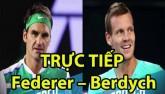 TRỰC TIẾP tennis Federer – Berdych: Đối thủ ưa thích