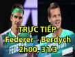 Chi tiết Federer - Berdych: Kịch tính tie-break (KT)