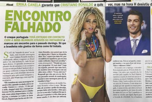 """Ronaldo qua mặt bạn gái: Gạ gẫm Hoa khôi vòng 3 """"khủng"""""""