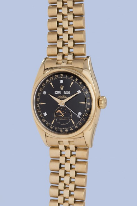 Đấu giá đồng hồ Rolex 1,5 triệu USD của vua Bảo Đại