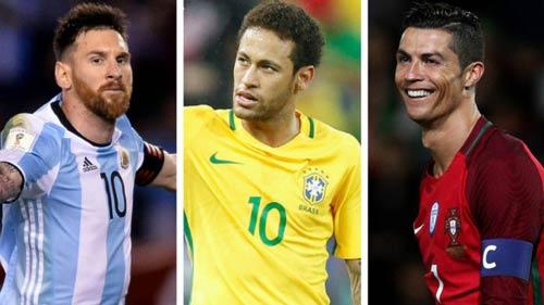 Ý tưởng lạ: Ronaldo đấu Messi, Neymar ở Copa America