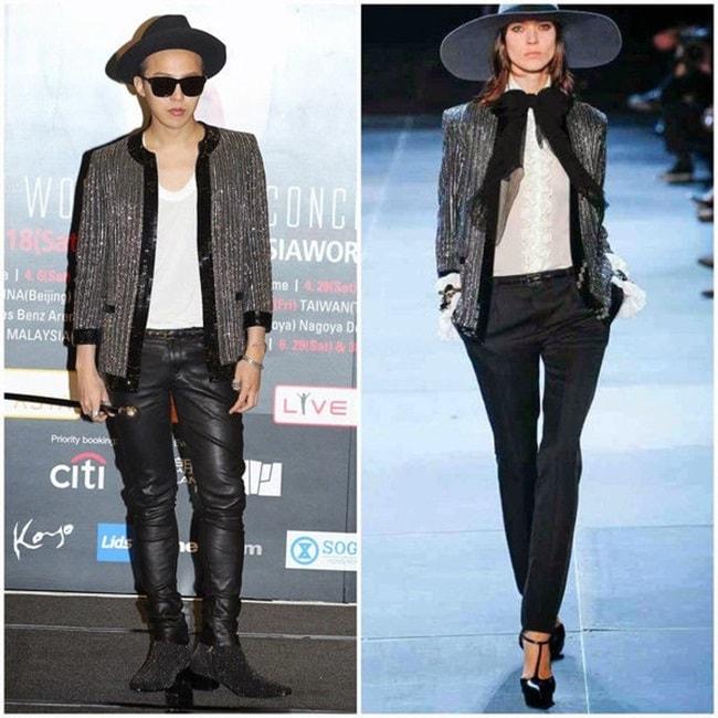 Đẳng cấp G-Dragon: Mặc đồ nữ vẫn chất - 6