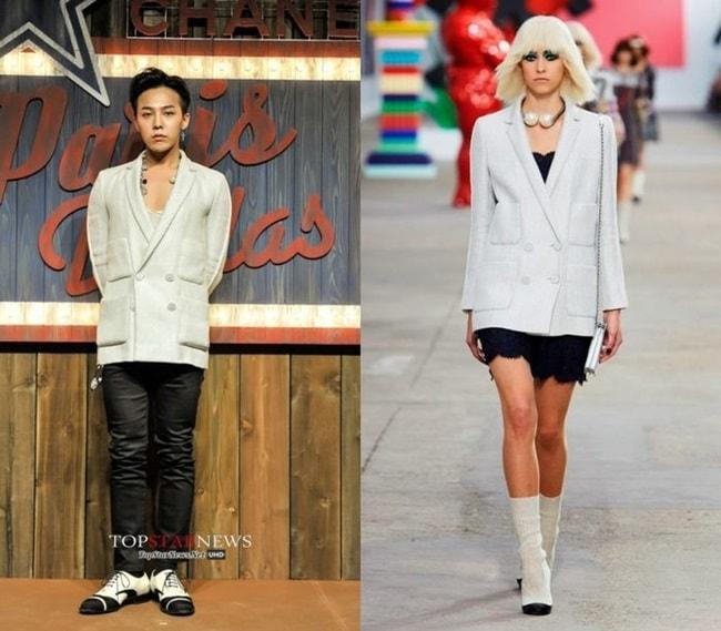 Đẳng cấp G-Dragon: Mặc đồ nữ vẫn chất - 5