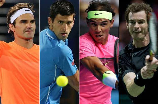 Bảng xếp hạng tennis 1/1: Sừng sững Nadal, Federer,