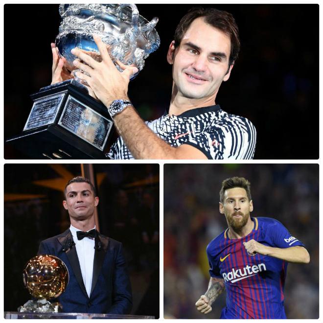 Tennis 24/7: Federer thắng ngoạn mục Ronaldo – Messi, hay nhất 2017