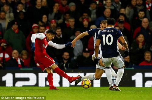 Chi tiết West Brom - Arsenal: Quả phạt đền nghiệt ngã (KT) 23