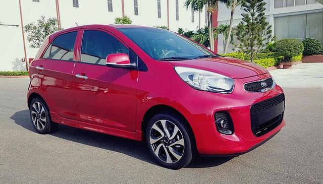 10 ô tô rẻ nhất Việt Nam đầu năm 2018 - 2
