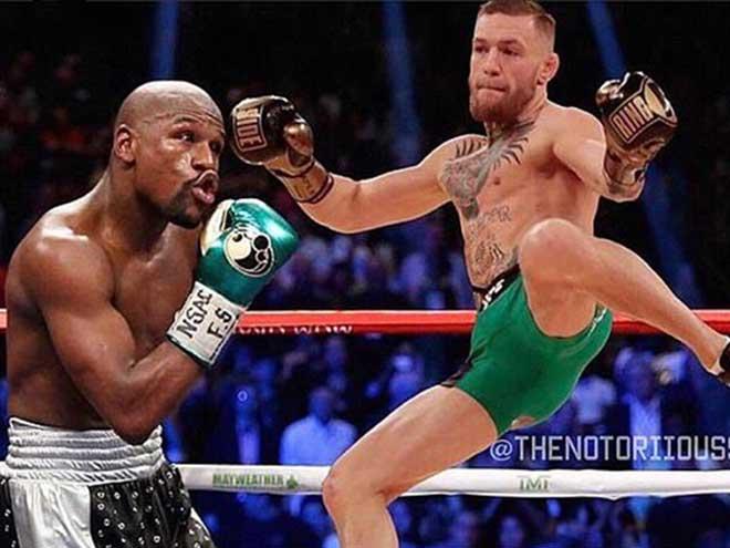 McGregor dính virus chết người vẫn thách Mayweather đấu UFC 1