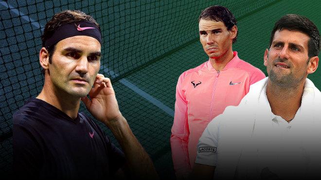 """Nadal - Djokovic khổ vì chấn thương, Federer buông lời """"cay đắng"""" 1"""