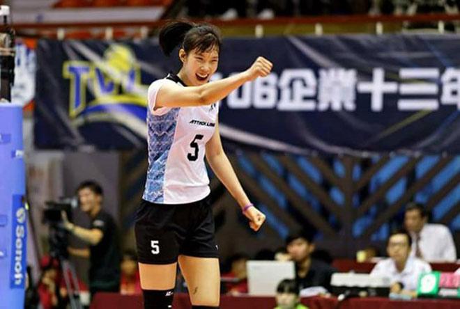 Thanh Thúy 1m93 khuynh đảo bóng chuyền ngoại: Ghi 147 điểm, hay nhất Đài Loan 1