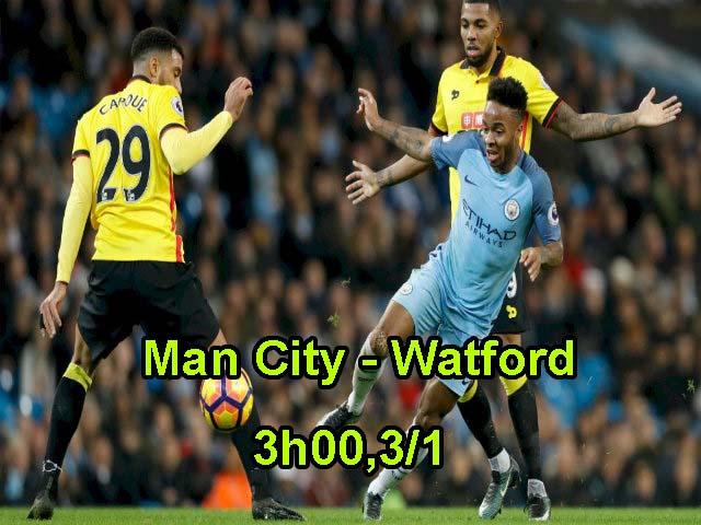 TRỰC TIẾP bóng đá Man City – Watford: Pep chưa dám nghĩ về chức vô địch 19