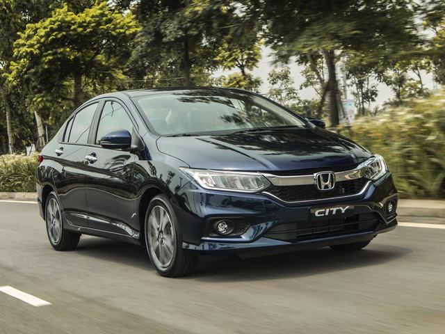 Honda Việt Nam áp dụng giá mới cho Honda City từ 3/1/2018