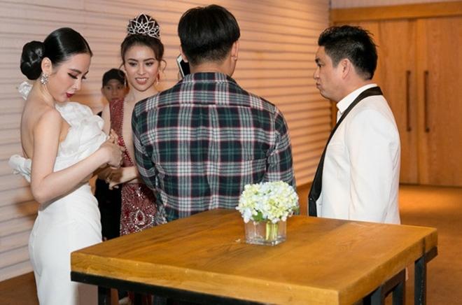 Angela Phương Trinh tránh mặt Chiêm Quốc Thái: Sao