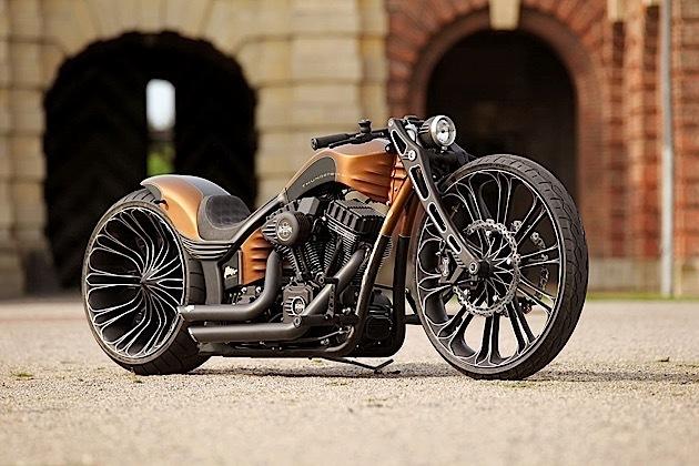 """Harley Davidson độ sang chảnh """"hớp hồn"""" giới nhà giàu - 1"""