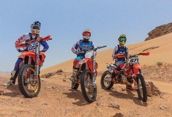 Thót tim với những trò chơi mạo hiểm trên cát ở Dubai