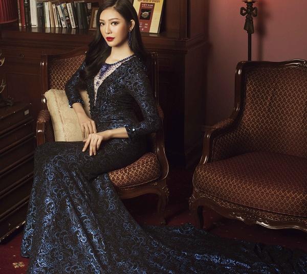 Top 45 Hoa hậu Hoàn vũ gây chú ý với ảnh trang phục dạ hội - 2