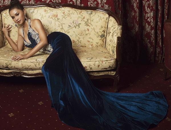 Top 45 Hoa hậu Hoàn vũ gây chú ý với ảnh trang phục dạ hội - 8