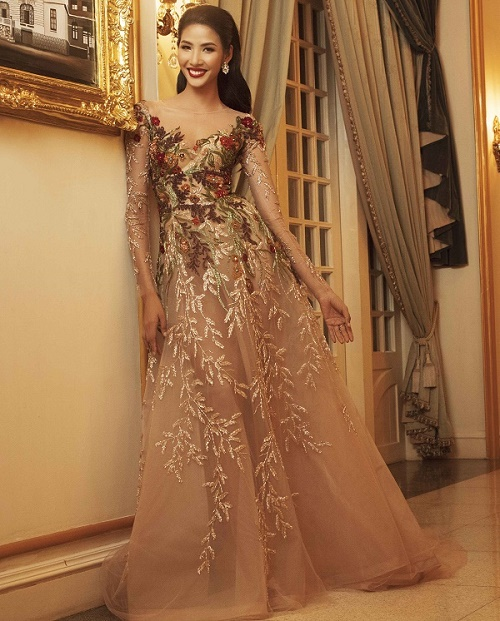 Top 45 Hoa hậu Hoàn vũ gây chú ý với ảnh trang phục dạ hội - 3