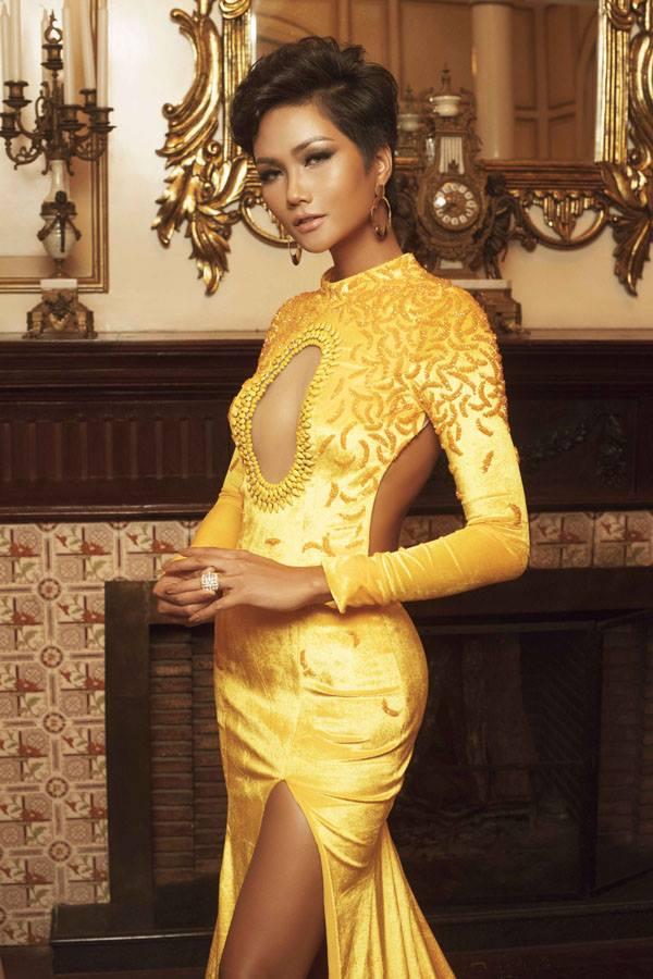 Top 45 Hoa hậu Hoàn vũ gây chú ý với ảnh trang phục dạ hội - 5