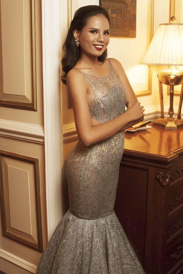 Top 45 Hoa hậu Hoàn vũ gây chú ý với ảnh trang phục dạ hội - 12