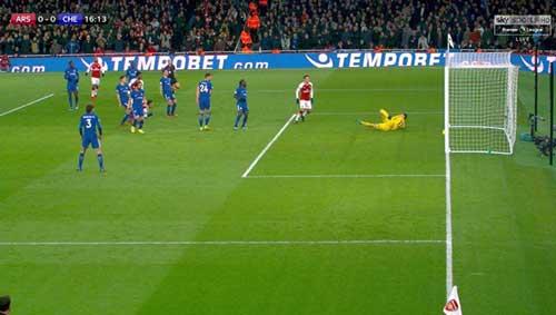 Chi tiết Arsenal - Chelsea: Vô-lê gỡ hòa 90+2 (KT) 10