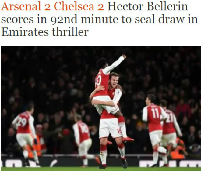 """Arsenal - Chelsea hòa nghẹt thở: Báo chí """"sướng rơn"""", khen người hùng giấu mặt 3"""