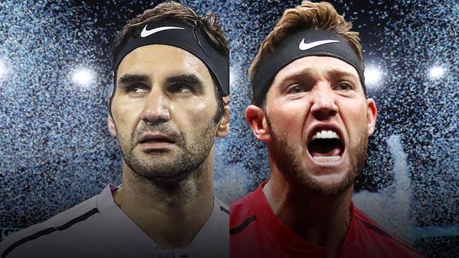 Federer - Sock: 30 cú ace, tie-break, 95 phút hấp dẫn 1
